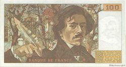 100 Francs DELACROIX modifié FRANCE  1983 F.69.07 pr.SUP