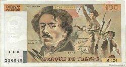 100 Francs DELACROIX modifié FRANCE  1987 F.69.11 TTB+