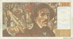 100 Francs DELACROIX modifié FRANCE  1988 F.69.12 TTB
