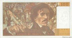 100 Francs DELACROIX 442-1 & 442-2 FRANCE  1995 F.69ter.02b NEUF