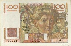 100 Francs JEUNE PAYSAN FRANCE  1948 F.28.20 SUP+