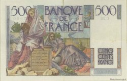 500 Francs CHATEAUBRIAND FRANCE  1945 F.34.02 TTB+