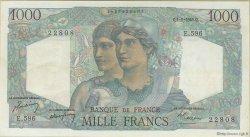 1000 Francs MINERVE ET HERCULE FRANCE  1949 F.41.28 pr.SUP