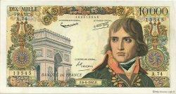 10000 Francs BONAPARTE FRANCE  1957 F.51.08 TTB