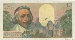 10 Nouveaux Francs RICHELIEU FRANCE  1959 F.57.04 TB à TTB