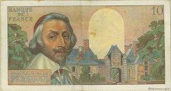 10 Nouveaux Francs RICHELIEU FRANCE  1960 F.57.12 TTB
