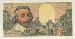 10 Nouveaux Francs RICHELIEU FRANCE  1962 F.57.17 pr.NEUF