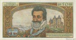 50 Nouveaux Francs HENRI IV FRANCE  1960 F.58.05 TTB