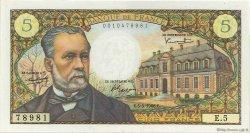 5 Francs PASTEUR FRANCE  1966 F.61.01 SUP