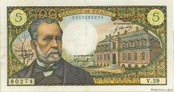 5 Francs PASTEUR FRANCE  1967 F.61.05 TTB+