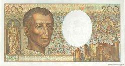 200 Francs MONTESQUIEU FRANCE  1989 F.70.09 SPL+