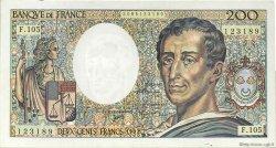 200 Francs MONTESQUIEU FRANCE  1992 F.70.12a pr.SUP