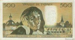 500 Francs PASCAL FRANCE  1973 F.71.09 TTB+