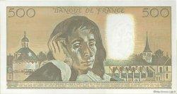 500 Francs PASCAL FRANCE  1991 F.71.46 SUP à SPL