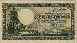 1 Pound AFRIQUE DU SUD  1946 P.084f TTB