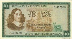 10 Rand AFRIQUE DU SUD  1975 P.113c TTB+