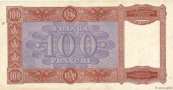 100 Franga ALBANIE  1940 P.08 TTB