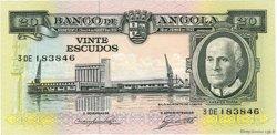 20 Escudos ANGOLA  1962 P.092 NEUF
