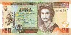 20 Dollars BELIZE  2005 P.69b UNC