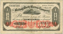 1 Dollar MALAISIE et BORNEO  1936 P.28 TB+