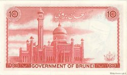 10 Ringitt BRUNEI  1967 P.03b pr.NEUF
