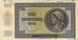 500 Leva BULGARIE  1942 P.060a SUP