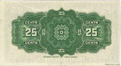 25 Cents CANADA  1923 P.011c pr.SUP