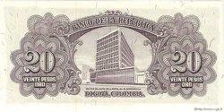 20 Pesos COLOMBIE  1960 P.401b NEUF