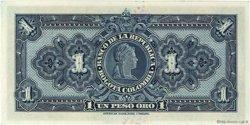 1 Peso Oro COLOMBIE  1942 P.380c NEUF