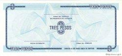 3 Pesos CUBA  1990 P.FX20 NEUF