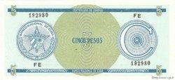 5 Pesos CUBA  1990 P.FX21 NEUF