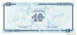 10 Pesos CUBA  1990 P.FX22 NEUF