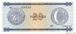 20 Pesos CUBA  1990 P.FX23 NEUF