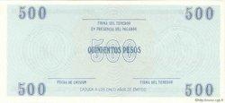 500 Pesos CUBA  1990 P.FX26 NEUF