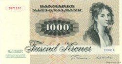 1000 Kroner DANEMARK  1986 P.053d NEUF
