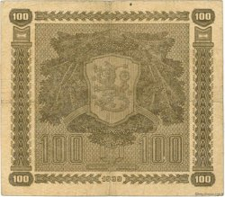 100 Markkaa FINLANDE  1939 P.073 TTB
