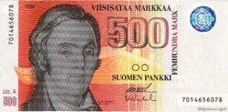 500 Markkaa FINLANDE  1991 P.120 NEUF