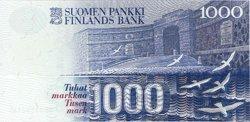 1000 Markkaa FINLANDE  1991 P.121 NEUF