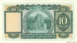 10 Dollars HONG KONG  1977 P.182h pr.SPL