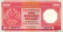 100 Dollars HONG KONG  1985 P.194a pr.SUP