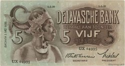 5 Gulden INDES NEERLANDAISES  1939 P.078b TTB+