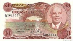 1 Kwacha MALAWI  1986 P.19a NEUF