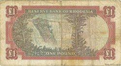 1 Pound RHODÉSIE  1967 P.28a pr.TB