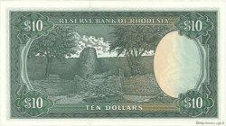 10 Dollars RHODÉSIE  1979 P.41a SPL