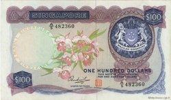 100 Dollars SINGAPOUR  1973 P.06d TTB