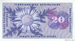20 Francs SUISSE  1974 P.46v SPL