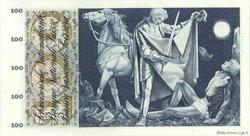 100 Francs SUISSE  1965 P.49g TTB+
