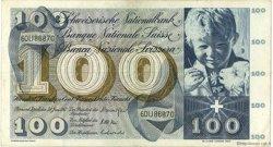 100 Francs SUISSE  1967 P.49j TTB