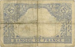 5 Francs BLEU FRANCE  1913 F.02.21 TB