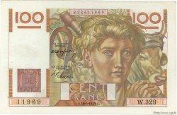 100 Francs JEUNE PAYSAN FRANCE  1949 F.28.24 TTB+